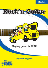 """Rock'n Guitar 1"" Booklet"