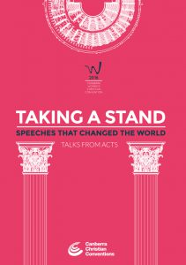 """Taking a Stand - Speeches that changed the world"" Booklet"